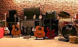 お店・音楽スタジオ