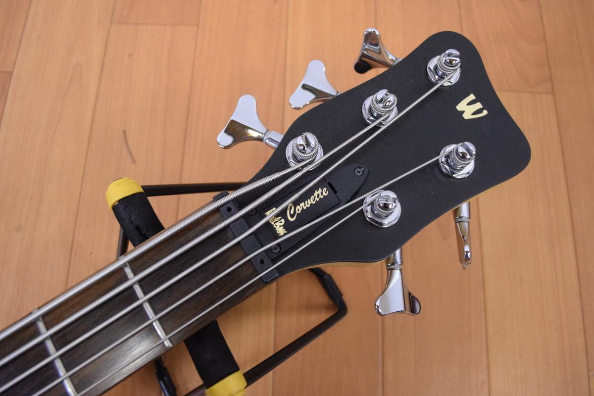 ワーウィックベースコルベット5弦ヘッド