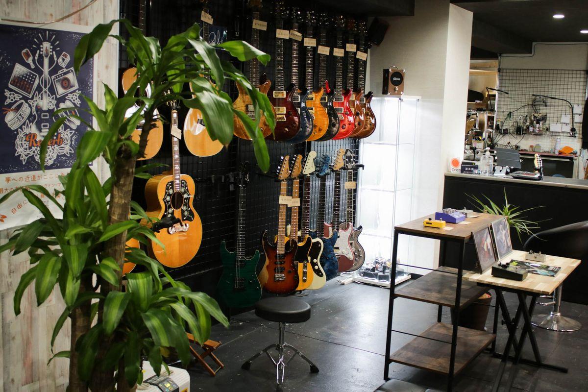 楽器の買取屋さんの店舗